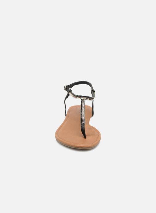 Sandales et nu-pieds Refresh 63613 Noir vue portées chaussures