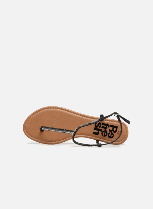 Sandales et nu-pieds Refresh 63613 Noir vue gauche