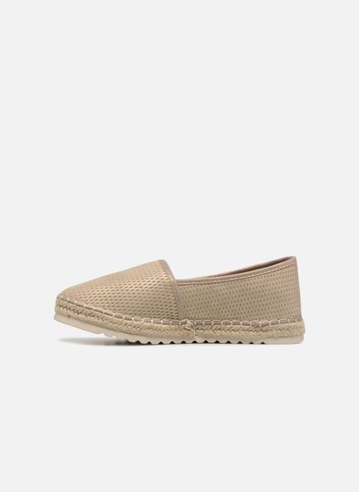Espadrilles Refresh 64077 Or et bronze vue face
