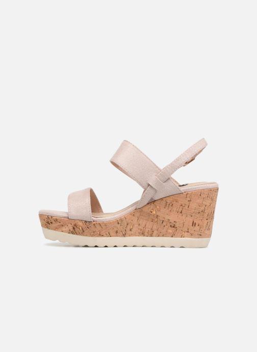 Sandales et nu-pieds Refresh 64093 Beige vue face
