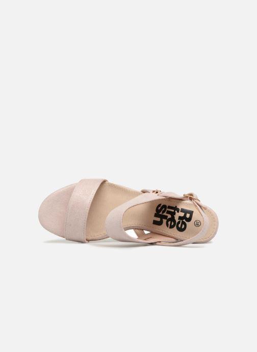 Sandales et nu-pieds Refresh 64093 Beige vue gauche