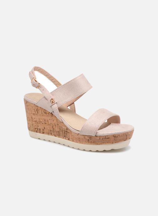 Sandales et nu-pieds Refresh 64093 Beige vue détail/paire