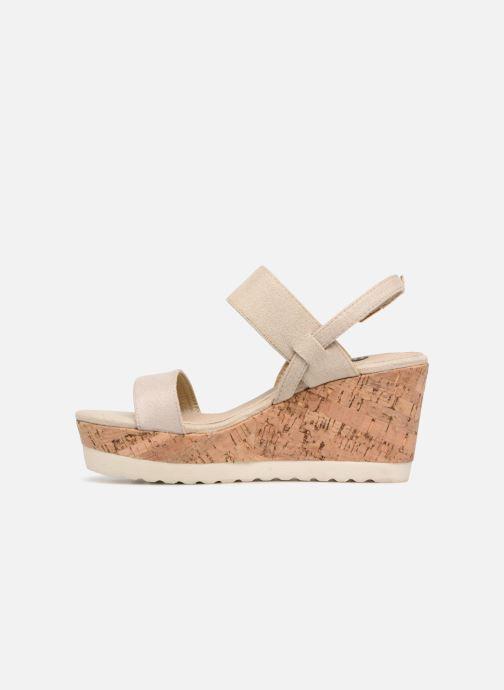 Sandales et nu-pieds Refresh 64093 Or et bronze vue face