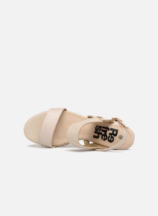 Sandales et nu-pieds Refresh 64093 Or et bronze vue gauche