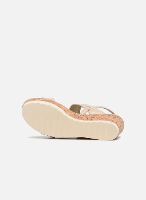 Sandales et nu-pieds Refresh 64093 Or et bronze vue haut