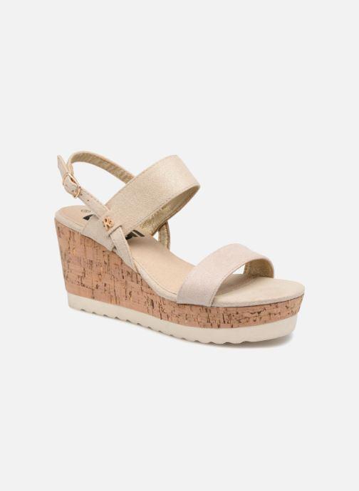 Sandales et nu-pieds Refresh 64093 Or et bronze vue détail/paire