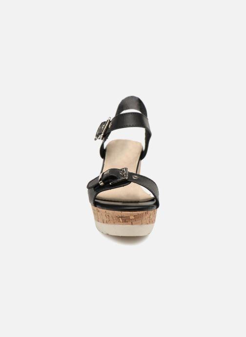 Sandales et nu-pieds Refresh 64094 Noir vue portées chaussures