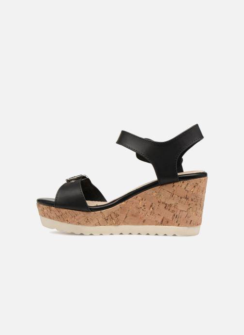 Sandales et nu-pieds Refresh 64094 Noir vue face