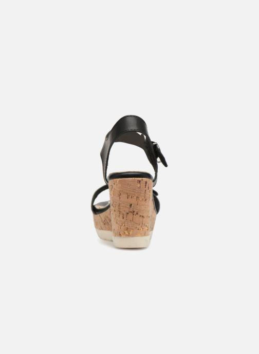 Sandales et nu-pieds Refresh 64094 Noir vue droite