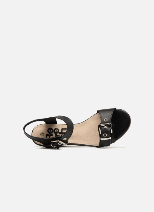 Sandales et nu-pieds Refresh 64094 Noir vue gauche