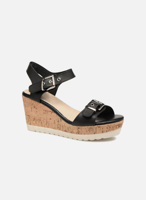 Sandales et nu-pieds Refresh 64094 Noir vue détail/paire