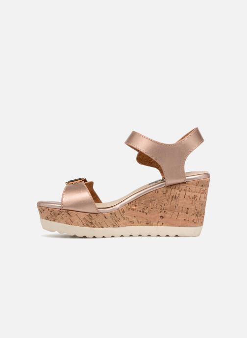 Sandales et nu-pieds Refresh 64094 Beige vue face