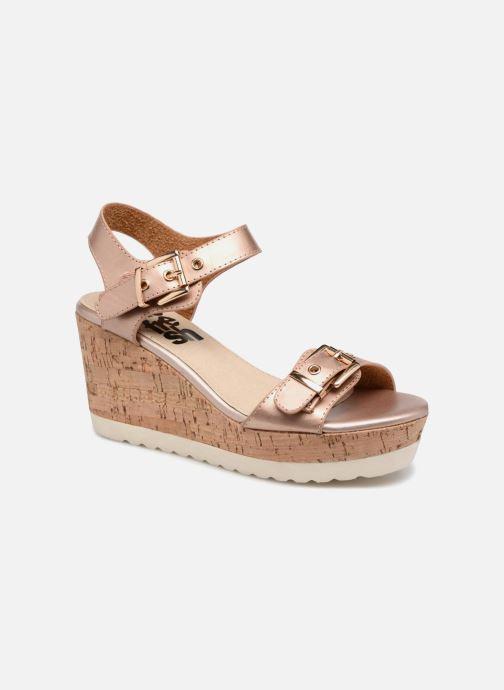 Sandales et nu-pieds Refresh 64094 Beige vue détail/paire