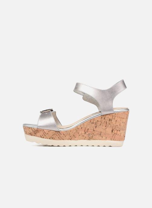 Sandales et nu-pieds Refresh 64094 Argent vue face