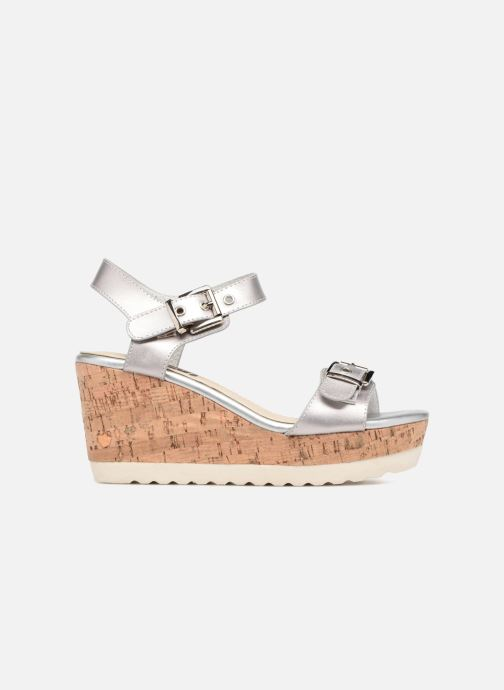 Sandales et nu-pieds Refresh 64094 Argent vue derrière