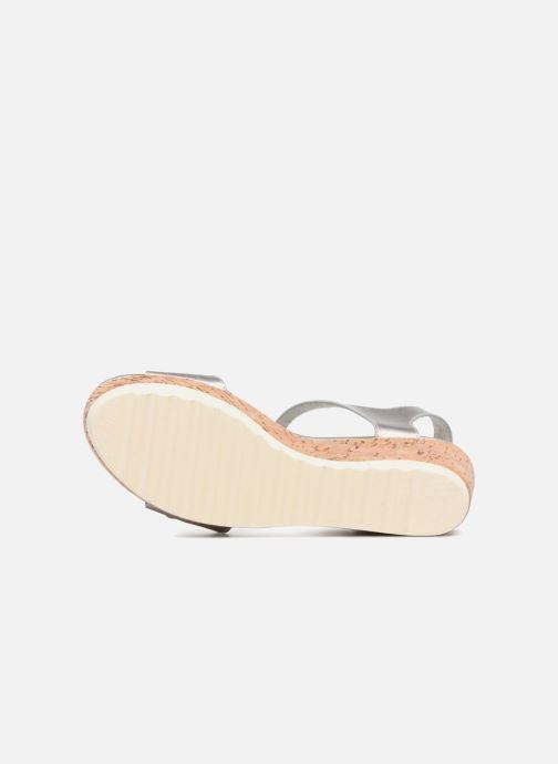 Sandales et nu-pieds Refresh 64094 Argent vue haut