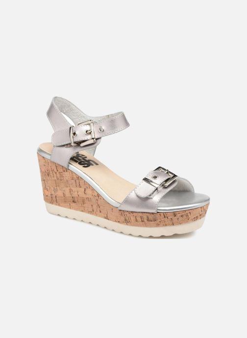 Sandales et nu-pieds Refresh 64094 Argent vue détail/paire