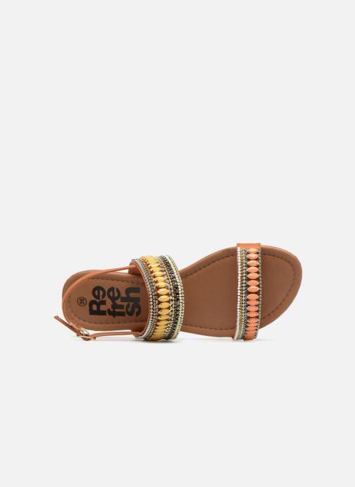 Sandales et nu-pieds Refresh 64206 Marron vue gauche