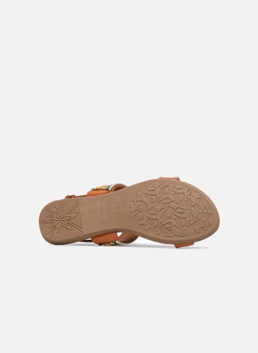 Sandales et nu-pieds Refresh 64206 Marron vue haut