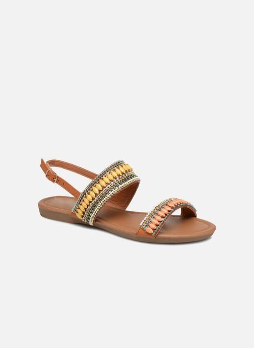 Sandales et nu-pieds Refresh 64206 Marron vue détail/paire