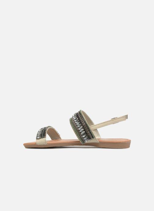 Sandales et nu-pieds Refresh 64206 Gris vue face