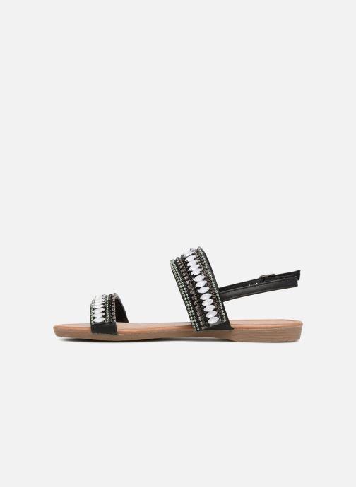 Sandales et nu-pieds Refresh 64206 Noir vue face