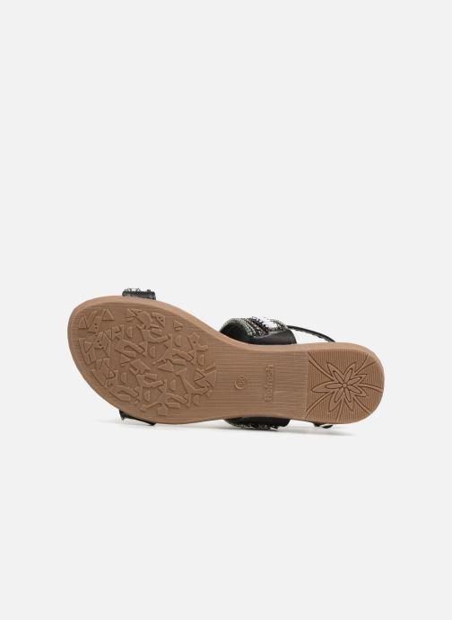 Sandales et nu-pieds Refresh 64206 Noir vue haut