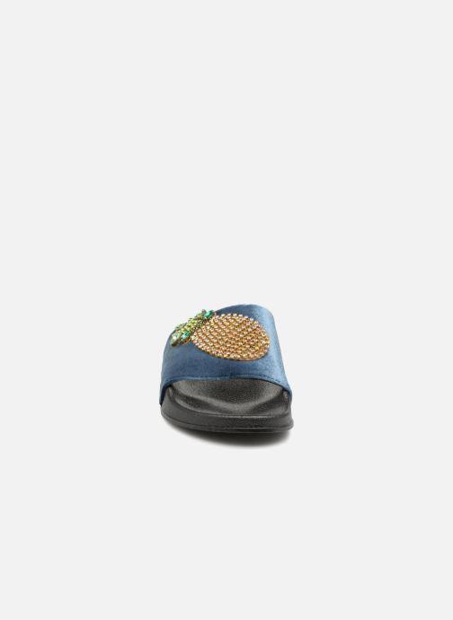 Mules et sabots Refresh 64365 Bleu vue portées chaussures