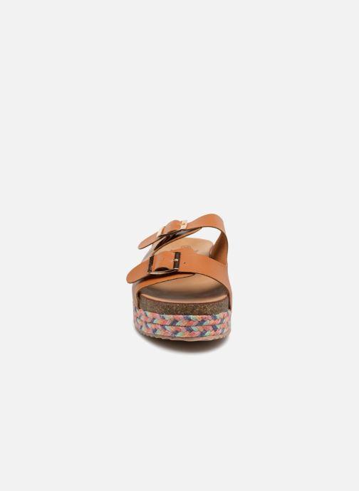 Mules et sabots Refresh 64385 Marron vue portées chaussures