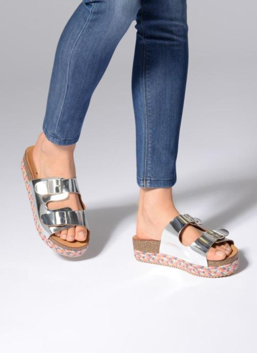 Mules & clogs Refresh 64385 Silver view from underneath / model view