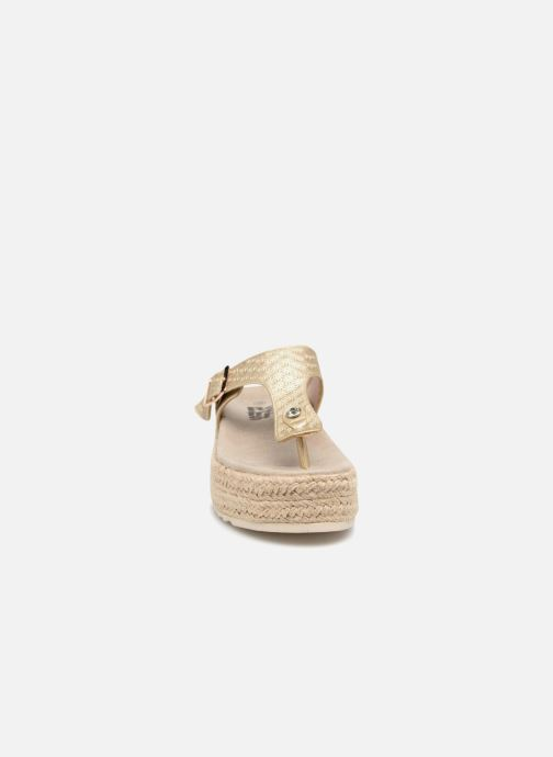 Mules et sabots Refresh 64389 Or et bronze vue portées chaussures