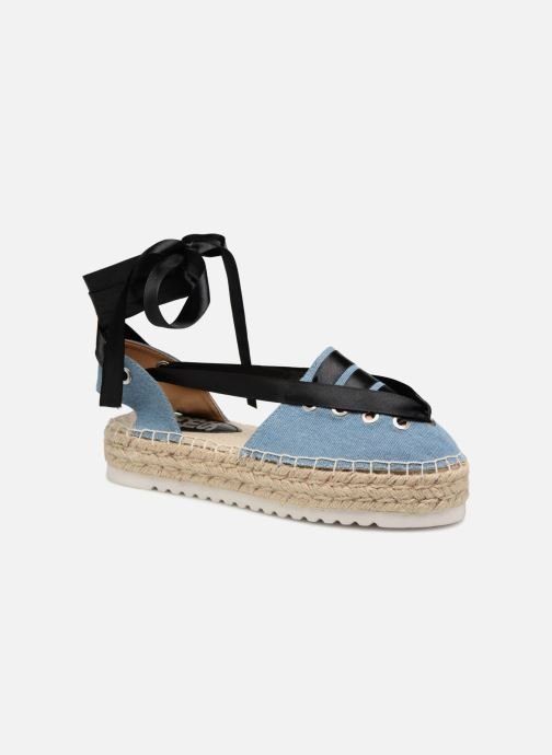 Espadrilles Refresh 64410 Blue detailed view/ Pair view