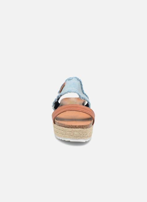 Sandales et nu-pieds Refresh 64430 Bleu vue portées chaussures