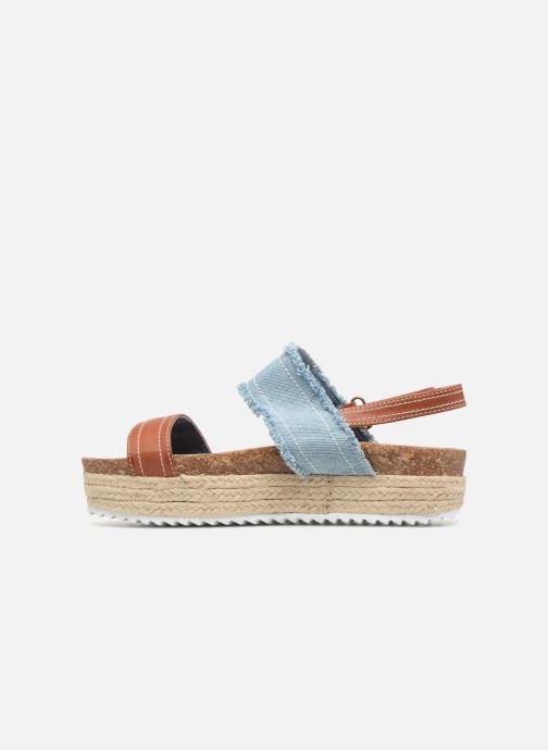 Sandales et nu-pieds Refresh 64430 Bleu vue face