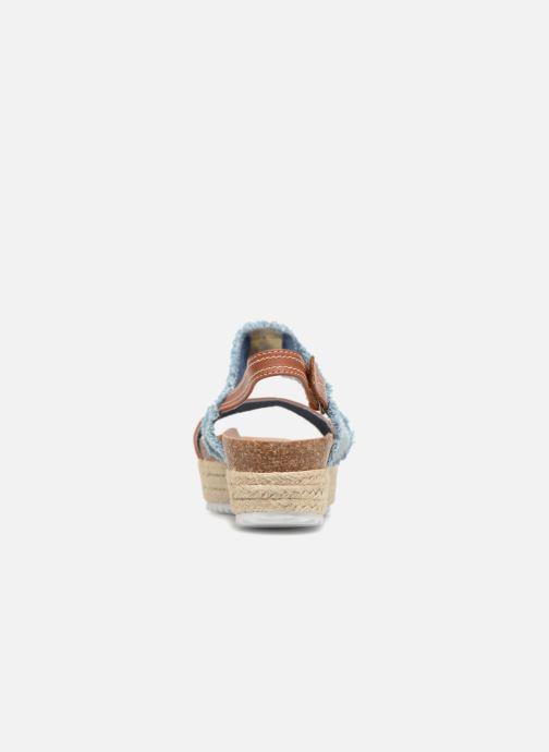 Sandales et nu-pieds Refresh 64430 Bleu vue droite