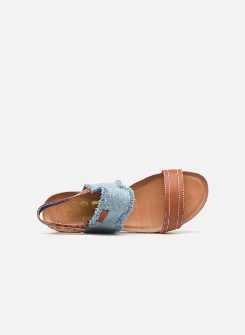 Sandales et nu-pieds Refresh 64430 Bleu vue gauche