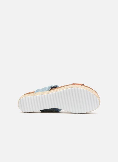 Sandales et nu-pieds Refresh 64430 Bleu vue haut