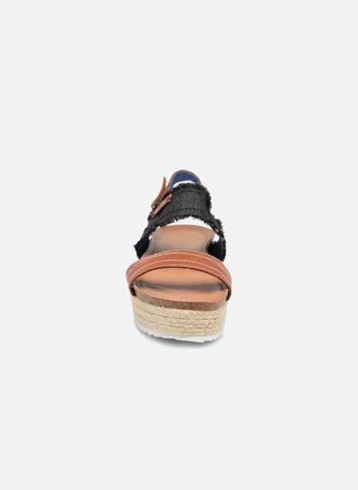 Sandales et nu-pieds Refresh 64430 Noir vue portées chaussures