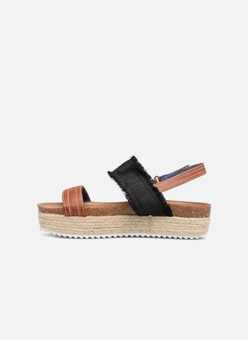 Sandales et nu-pieds Refresh 64430 Noir vue face