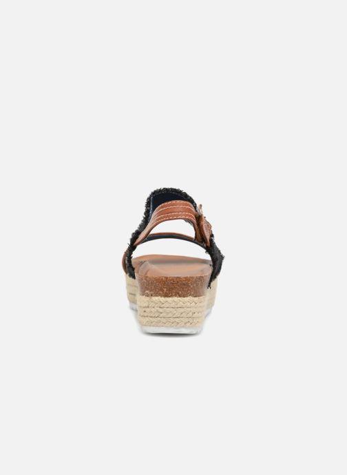 Sandales et nu-pieds Refresh 64430 Noir vue droite