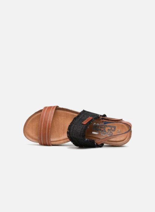 Sandales et nu-pieds Refresh 64430 Noir vue gauche