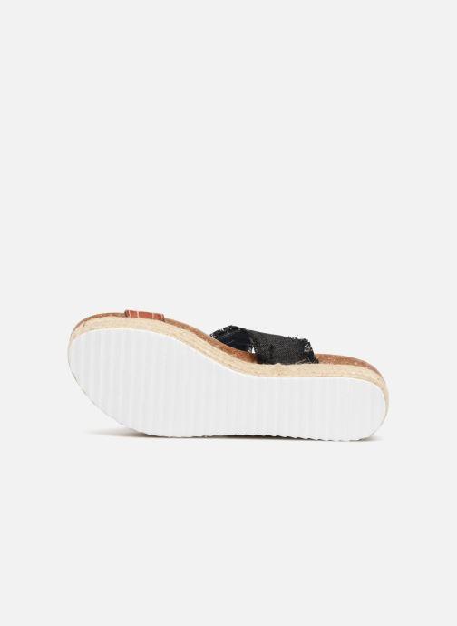 Sandales et nu-pieds Refresh 64430 Noir vue haut