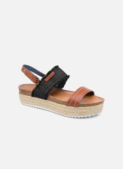 Sandales et nu-pieds Refresh 64430 Noir vue détail/paire