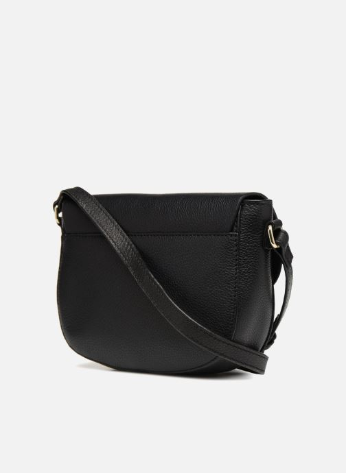 Handtassen Pieces Magda Leather Crossbody Zwart rechts