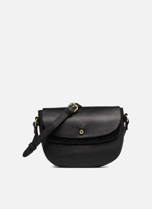 Bolsos de mano Pieces Magda Leather Crossbody Negro vista de detalle / par