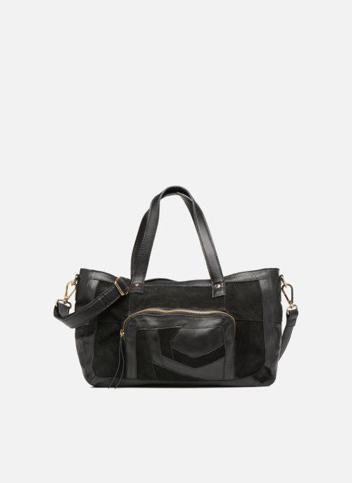 Håndtasker Pieces Krissa Leather Daily Bag Sort detaljeret billede af skoene