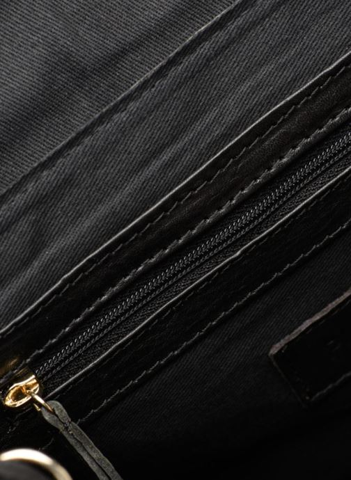 Handtassen Pieces Krystal Leather Crossbody Zwart achterkant