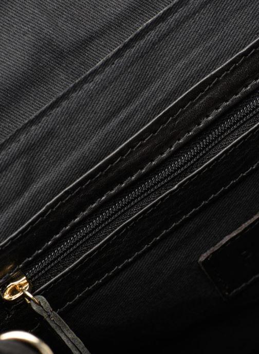 Handtaschen Pieces Krystal Leather Crossbody schwarz ansicht von hinten