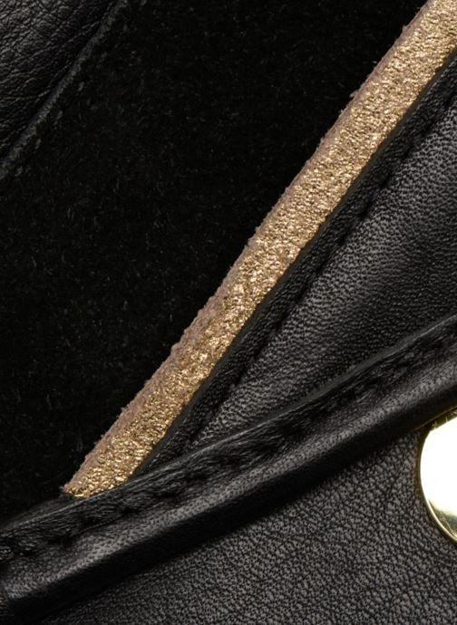 Handtassen Pieces Krystal Leather Crossbody Zwart links