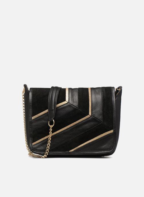 Bolsos de mano Pieces Krystal Leather Crossbody Negro vista de detalle / par